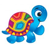 Terrific Turtles superShapes Stickers, Large