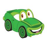 Car-Toons superShapes Stickers, Large