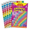 superSpots® & SuperShapes Variety Pack,  Colorful Sparkle Smiles