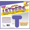 "4"" Uppercase Casual Solids Ready Letters®"