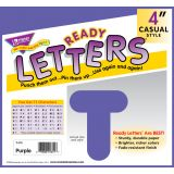 4 Uppercase Casual Solids Ready Letters®, Deep Pink