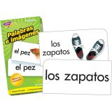 Spanish Picture Words Skill Drill Flash Cards