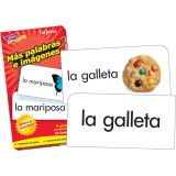 Spanish More Picture Words Skill Drill Flash Cards