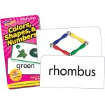 Colors, Shapes, & Numbers Flash Cards
