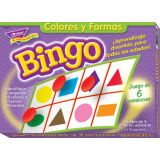 Spanish Colors & Shapes Bingo, Bingo de Colores y Formas