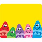 Colorful Crayons Terrific Labels®