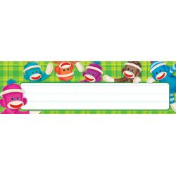 Sock Monkeys Desk Toppers® Name Plates