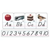 Manuscript Photo Alphabet Cards, Modern