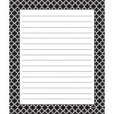 Moroccan Black Note Pad