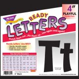 Playful Solids 4 Uppercase/Lowercase Ready Letters® Combo Pack, Yellow