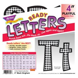 Playful Patterns 4 Uppercase/Lowercase Combo Pack, Neon Dots
