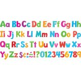 Playful Patterns 4 Uppercase/Lowercase Ready Letters® Combo Pack, Colorful Patterns
