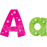 4 Playful Uppercase/Lowercase Ready Letters® Combo Pack, Bubbles
