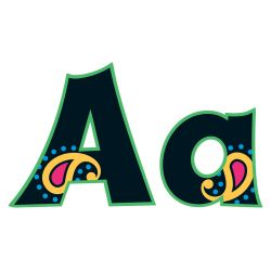 Perfectly Paisley 4 Friendly Uppercase/Lowercase Combo Pack