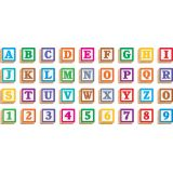 4 Wooden Blocks Ready Letters®