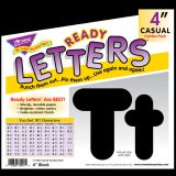 "4"" Uppercase/Lowercase Casual Solids Combo Pack"