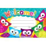 Welcome! (Owl-Stars!®) Recognition Awards