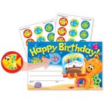 Scratch 'n Sniff Stinky Stickers® Awards, Birthday Sea Buddies™