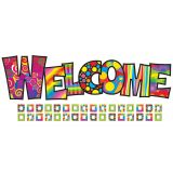 Razzle-Dazzle Welcome Bulletin Board Set