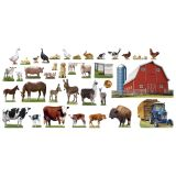 Animals on the Farm Bulletin Board Set