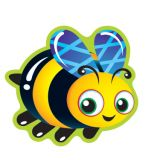 Bug Buddies Stinky Stickers®, Mixed Shapes