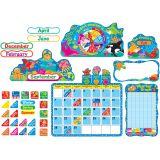 Sea Buddies® Calendar Bulletin Board Set