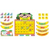 Monkey Mischief® Calendar Bulletin Board Set