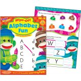 Wipe-Off® Book, Alphabet Sock Monkey
