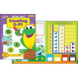 Wipe-Off® Book, Counting 0-31