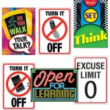 Learning Signs Argus® Poster Combo Pack