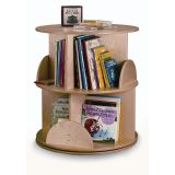 Two-Shelf Book Carousel