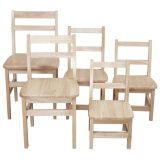 Birch Chairs, 18, Set of 2
