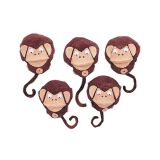 5-Character Monkey Mitt® Set, 5 Little Monkeys