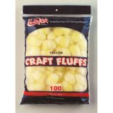 Craft Fluffs, Yellow