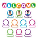 Color Your Classroom! Welcome Bulletin Board Set
