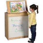 Big Book Display & Storage, With Dry Erase front