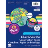 SunWorks® Smart-Stack™ Construction Paper Assortment, 9 x 12, 300 Sheets