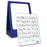 Deluxe Spiral-Bound Flip Chart Stand with 1/2 Ruled Chart Tablet