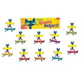 Pete the Cat® Groovy Classroom Jobs Mini Bulletin Board Set