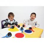 Paint & Clay Explorers, Set 2, Red