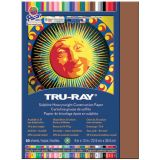 Tru-Ray® Fade-Resistant Construction Paper, 9 x 12, Warm Brown