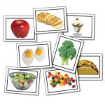 Photographic Learning Cards, Nouns: Food