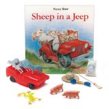 Sheep in a Jeep 3-D Storybook