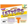 2 Uppercase Casual Solids Ready Letters®, Orange