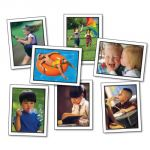 Photographic Learning Cards, Verbs: Actions