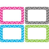 Chevron - Multi-Pack Name Tags/Labels