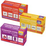 Common Core Collaborative Cards, All 3 Sets, Grades 6-8