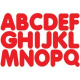 1-3/4 Magnetic Letters, Red