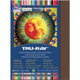 Tru-Ray® Fade-Resistant Construction Paper, 9 x 12, Dark Brown