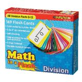 Math in a Flash™ Flash Cards, Division